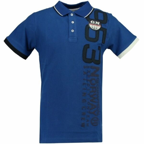 GEOGRAPHICAL NORWAY POLO Herre Kandin - Blue