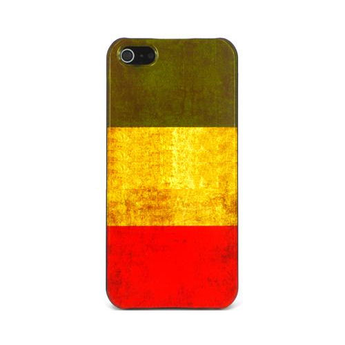 Italiensk flag. Retro cover til iPhone 4 and 4S.