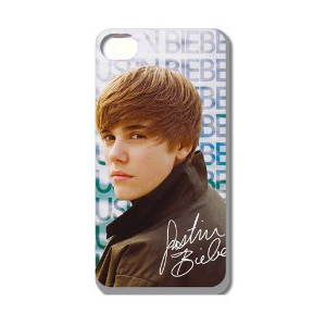 Justin Bieber iPhone 4 / 4S cover. Model 19.