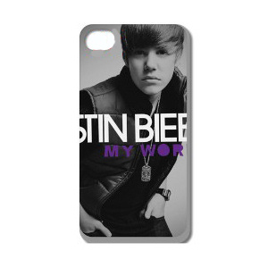 Justin Bieber iPhone 4 / 4S cover. Model 38.