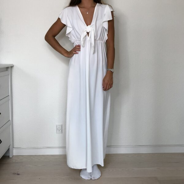 Leonora Dress - White