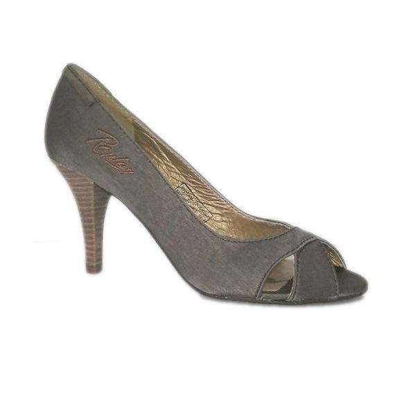 Replay Tangent peep toe stilet, damesko, brun