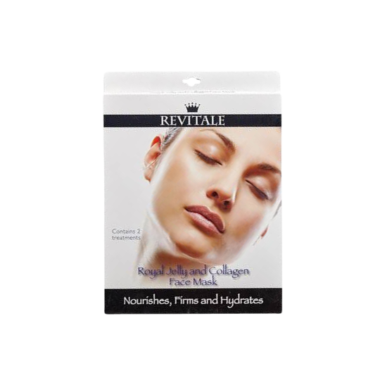 Revitale Royal Jelly and Collagen Face Mask 2 stk.