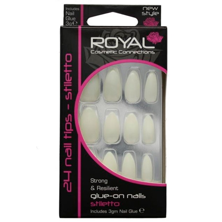 Royal Stiletto Kunstige Negle 24 Stk