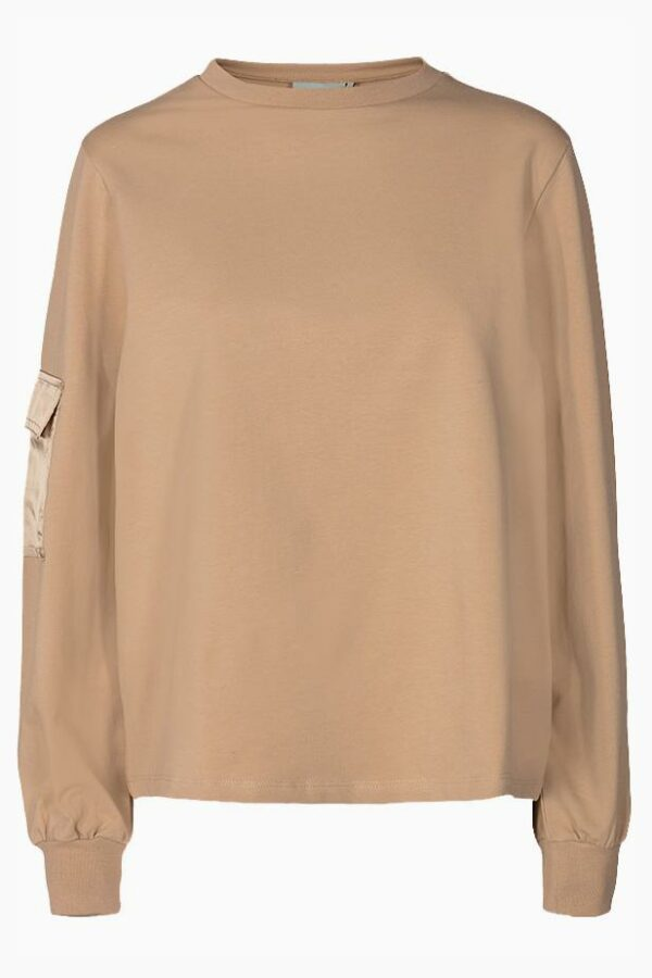 Sali bluse - cocoon - Moves - Beige S