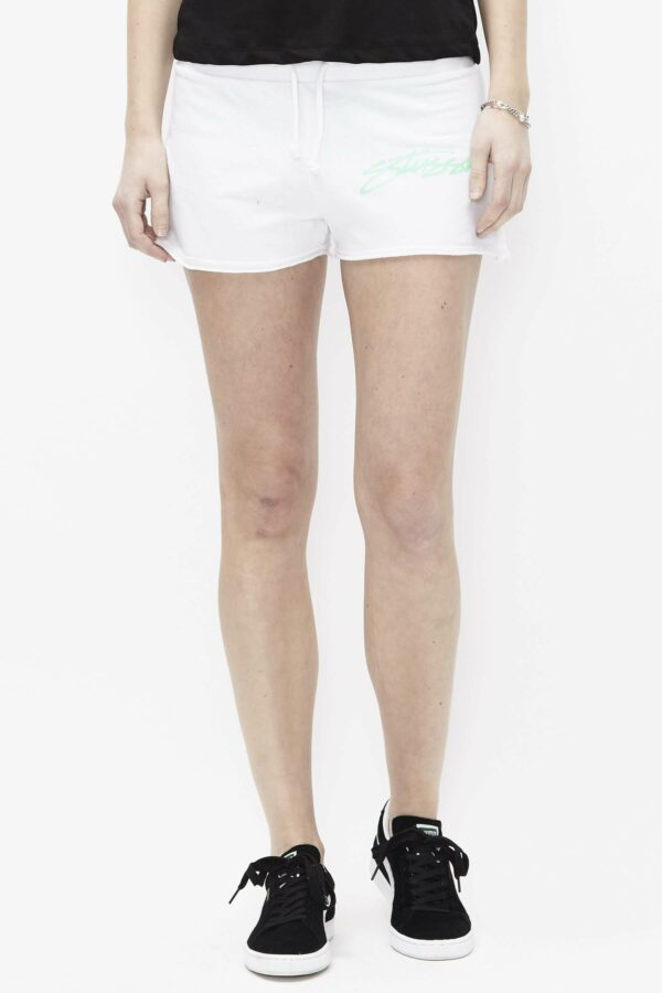 Smooth Stock Terry Shorts - hvid - HVID S
