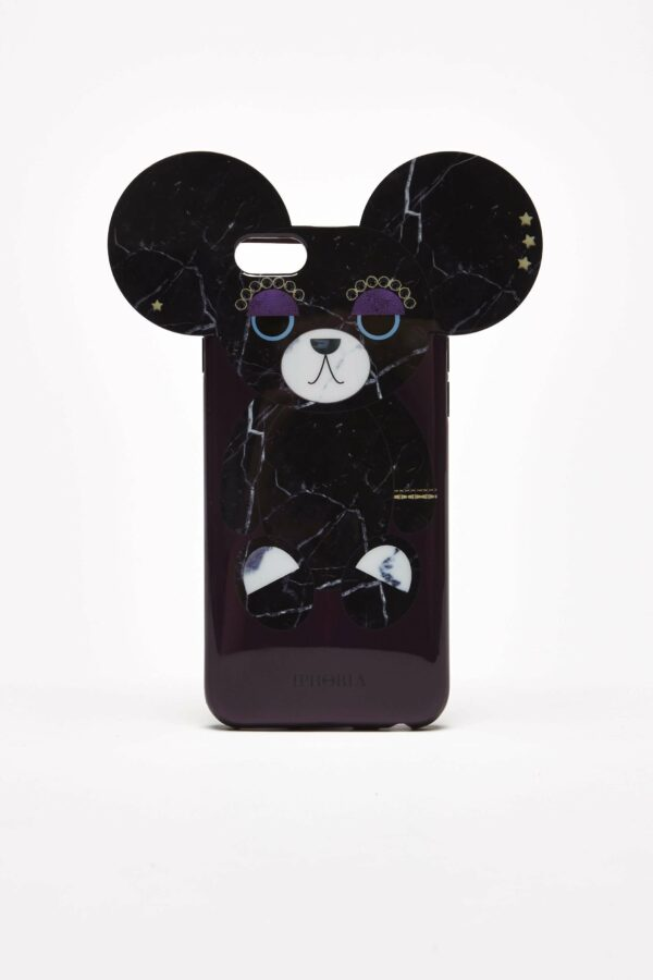 TEDDY BEAR FOR IPHONE 6/6S - SORT One Size