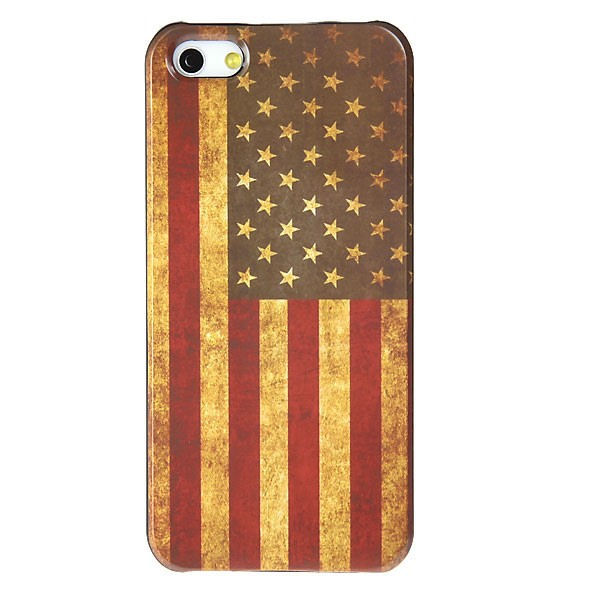 USA flag. Retro cover til iPhone 4 and 4S.