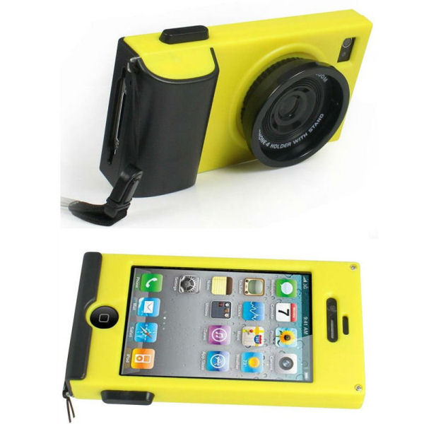 iCam cover til iPhone 4 and 4S. Gul.