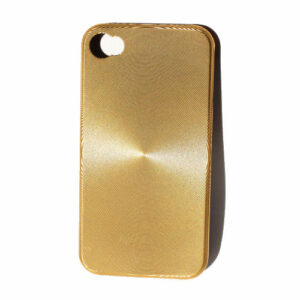 "iPhone 4 ""CD-style"" cover. Gold."