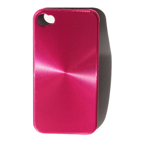 "iPhone 4 ""CD-style"" cover. Pink."