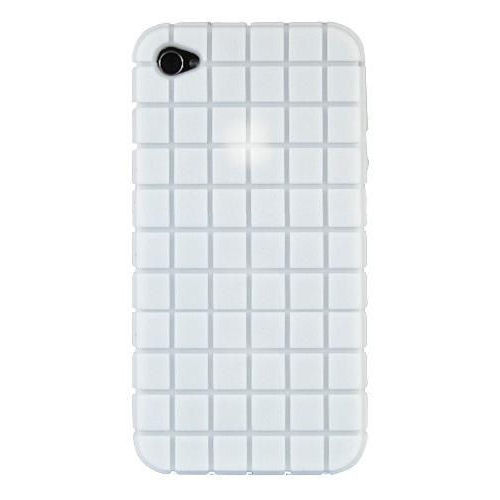 iPhone 4 SPECK® Silicone cover. Hvid.