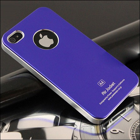 iPhone 4 and 4S Air jacket cover. Lilla.