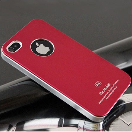 iPhone 4 and 4S Air jacket cover. Rød.