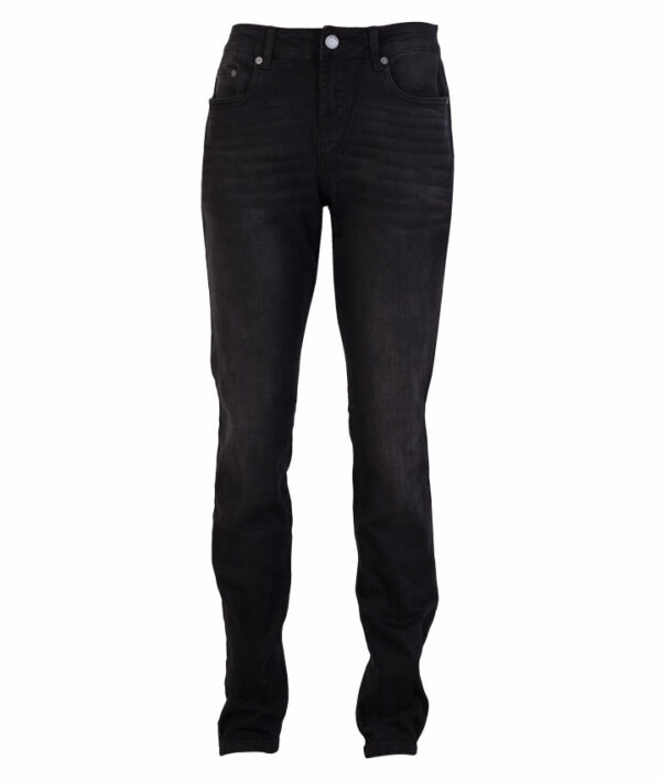 Jam Holly dame stretch jeans Sort 32 34