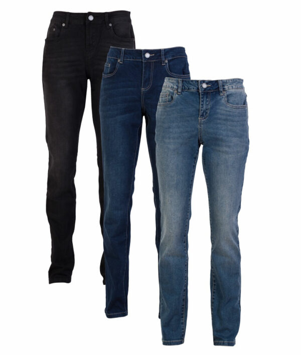 Jam Holly dame stretch jeans Sort 34 34
