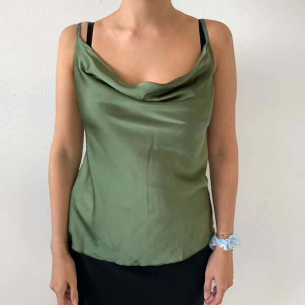 Silky Top - Green